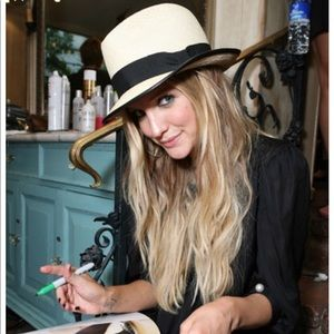 D&Y fedora Panama hat